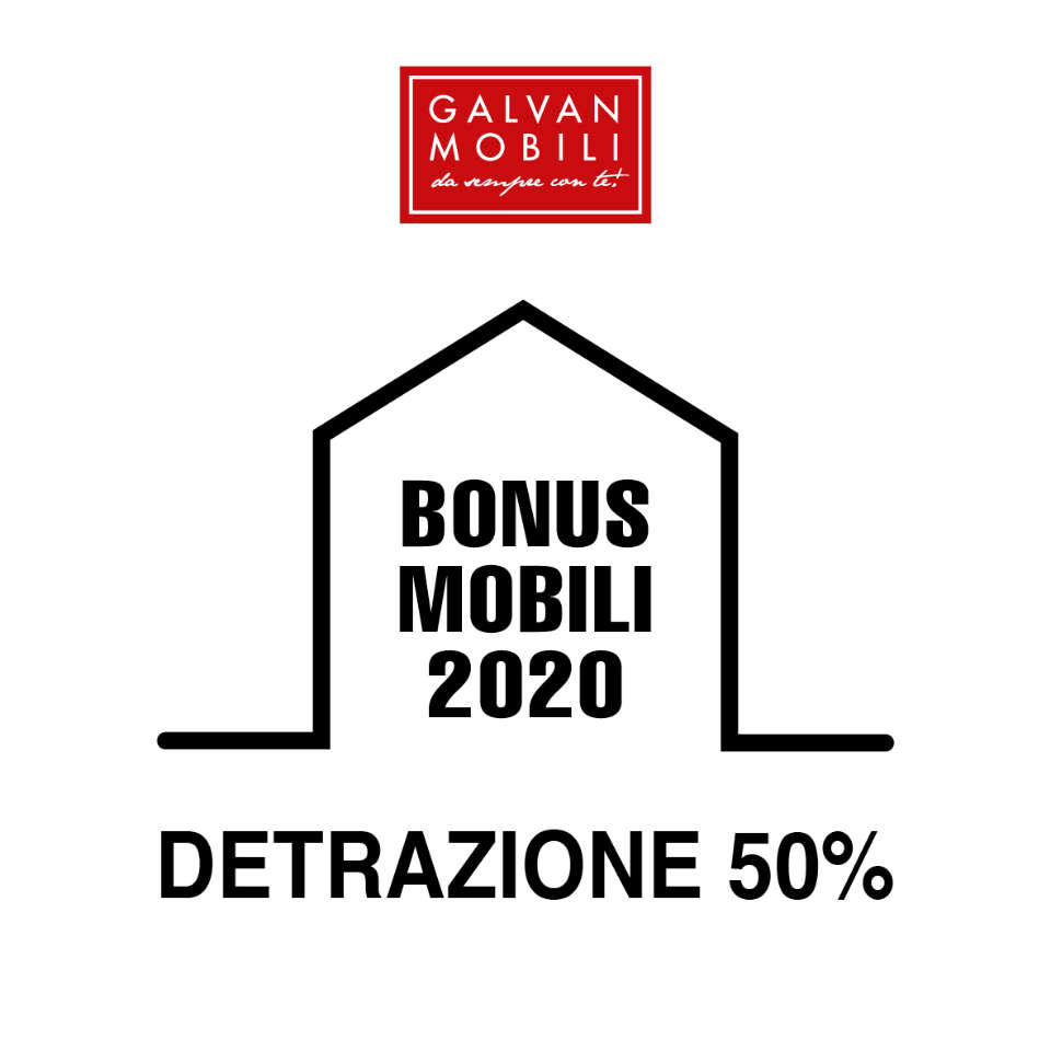 bonus mobili 50% 2020 galvan